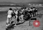 Image of Home made diving suit Venice Beach Los Angeles California USA, 1935, second 10 stock footage video 65675043334
