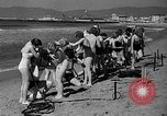 Image of Home made diving suit Venice Beach Los Angeles California USA, 1935, second 13 stock footage video 65675043334