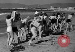 Image of Home made diving suit Venice Beach Los Angeles California USA, 1935, second 14 stock footage video 65675043334