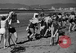 Image of Home made diving suit Venice Beach Los Angeles California USA, 1935, second 15 stock footage video 65675043334