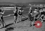 Image of Home made diving suit Venice Beach Los Angeles California USA, 1935, second 19 stock footage video 65675043334