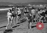 Image of Home made diving suit Venice Beach Los Angeles California USA, 1935, second 22 stock footage video 65675043334