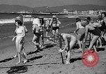 Image of Home made diving suit Venice Beach Los Angeles California USA, 1935, second 23 stock footage video 65675043334