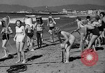 Image of Home made diving suit Venice Beach Los Angeles California USA, 1935, second 24 stock footage video 65675043334