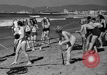 Image of Home made diving suit Venice Beach Los Angeles California USA, 1935, second 25 stock footage video 65675043334