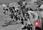 Image of Home made diving suit Venice Beach Los Angeles California USA, 1935, second 27 stock footage video 65675043334