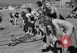 Image of Home made diving suit Venice Beach Los Angeles California USA, 1935, second 28 stock footage video 65675043334