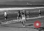 Image of Home made diving suit Venice Beach Los Angeles California USA, 1935, second 29 stock footage video 65675043334