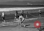 Image of Home made diving suit Venice Beach Los Angeles California USA, 1935, second 30 stock footage video 65675043334