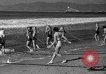 Image of Home made diving suit Venice Beach Los Angeles California USA, 1935, second 31 stock footage video 65675043334