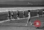 Image of Home made diving suit Venice Beach Los Angeles California USA, 1935, second 32 stock footage video 65675043334