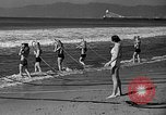 Image of Home made diving suit Venice Beach Los Angeles California USA, 1935, second 33 stock footage video 65675043334