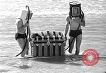 Image of Home made diving suit Venice Beach Los Angeles California USA, 1935, second 57 stock footage video 65675043334