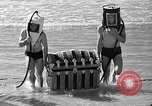 Image of Home made diving suit Venice Beach Los Angeles California USA, 1935, second 58 stock footage video 65675043334