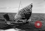 Image of Red Chinese Fishermen Taiwan Strait, 1967, second 12 stock footage video 65675043341