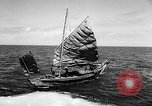 Image of Red Chinese Fishermen Taiwan Strait, 1967, second 13 stock footage video 65675043341