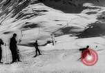 Image of Skiers skiing Germany, 1958, second 21 stock footage video 65675043361