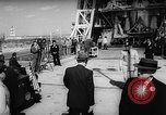 Image of President Dwight D Eisenhower Cape Canaveral Florida USA, 1960, second 25 stock footage video 65675043364