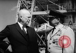Image of President Dwight D Eisenhower Cape Canaveral Florida USA, 1960, second 33 stock footage video 65675043364