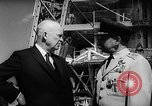 Image of President Dwight D Eisenhower Cape Canaveral Florida USA, 1960, second 34 stock footage video 65675043364