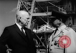Image of President Dwight D Eisenhower Cape Canaveral Florida USA, 1960, second 35 stock footage video 65675043364