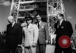 Image of President Dwight D Eisenhower Cape Canaveral Florida USA, 1960, second 36 stock footage video 65675043364