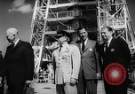 Image of President Dwight D Eisenhower Cape Canaveral Florida USA, 1960, second 37 stock footage video 65675043364