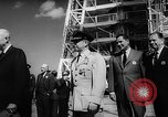Image of President Dwight D Eisenhower Cape Canaveral Florida USA, 1960, second 38 stock footage video 65675043364