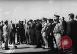Image of President Dwight D Eisenhower Cape Canaveral Florida USA, 1960, second 52 stock footage video 65675043364
