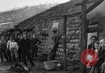 Image of Depression cave homes Uniontown Pennsylvania USA, 1935, second 13 stock footage video 65675043368