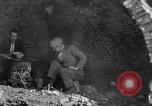 Image of Depression cave homes Uniontown Pennsylvania USA, 1935, second 17 stock footage video 65675043368