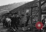 Image of Depression cave homes Uniontown Pennsylvania USA, 1935, second 24 stock footage video 65675043368
