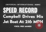 Image of Donald Campbell Nevada United States USA, 1955, second 1 stock footage video 65675043383