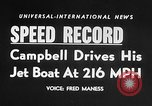 Image of Donald Campbell Nevada United States USA, 1955, second 2 stock footage video 65675043383