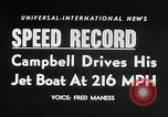 Image of Donald Campbell Nevada United States USA, 1955, second 5 stock footage video 65675043383