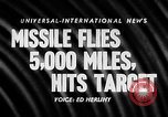 Image of Supersonic Missile Florida United States USA, 1957, second 17 stock footage video 65675043384