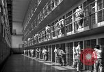 Image of Prisoners in prison with fine landscaping United States USA, 1940, second 30 stock footage video 65675043403