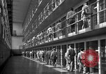 Image of Prisoners in prison with fine landscaping United States USA, 1940, second 33 stock footage video 65675043403