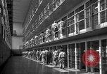 Image of Prisoners in prison with fine landscaping United States USA, 1940, second 36 stock footage video 65675043403