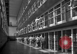 Image of Prisoners in prison with fine landscaping United States USA, 1940, second 37 stock footage video 65675043403
