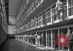 Image of Prisoners in prison with fine landscaping United States USA, 1940, second 38 stock footage video 65675043403