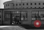 Image of Prisoners in prison with fine landscaping United States USA, 1940, second 43 stock footage video 65675043403