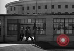 Image of Prisoners in prison with fine landscaping United States USA, 1940, second 44 stock footage video 65675043403