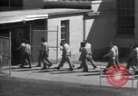 Image of Prisoners in prison with fine landscaping United States USA, 1940, second 57 stock footage video 65675043403