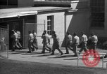 Image of Prisoners in prison with fine landscaping United States USA, 1940, second 60 stock footage video 65675043403