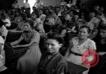 Image of Narrow crowded commercial street Puerto Rico, 1950, second 57 stock footage video 65675043413