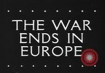 Image of War ends in Europe Italy, 1945, second 5 stock footage video 65675043440