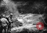 Image of American soldiers and marines battle Japanese forces in Okinawa Okinawa Ryukyu Islands, 1945, second 15 stock footage video 65675043441
