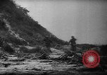 Image of American soldiers and marines battle Japanese forces in Okinawa Okinawa Ryukyu Islands, 1945, second 21 stock footage video 65675043441