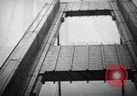 Image of Tacoma Narrows bridge collaps Tacoma Washington USA, 1940, second 30 stock footage video 65675043465